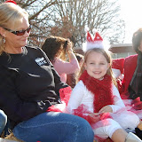 WBFJ - Walkertown Christmas Parade - 12-1-12