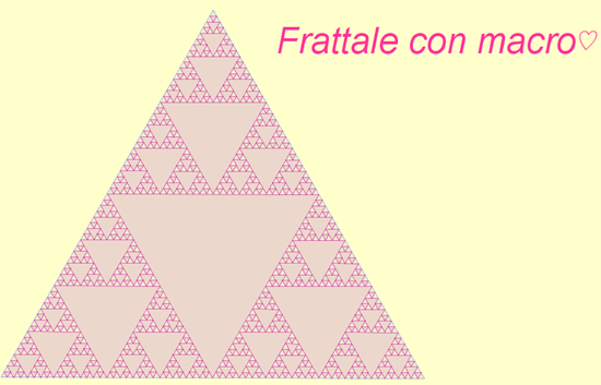 triangolo Sierpinski