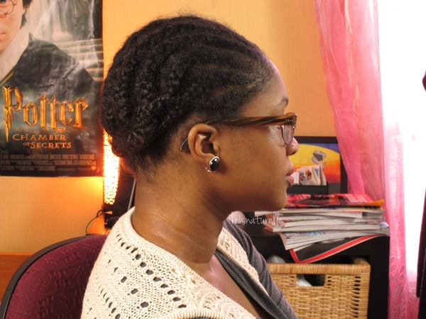 example of transitioning style Cornrows