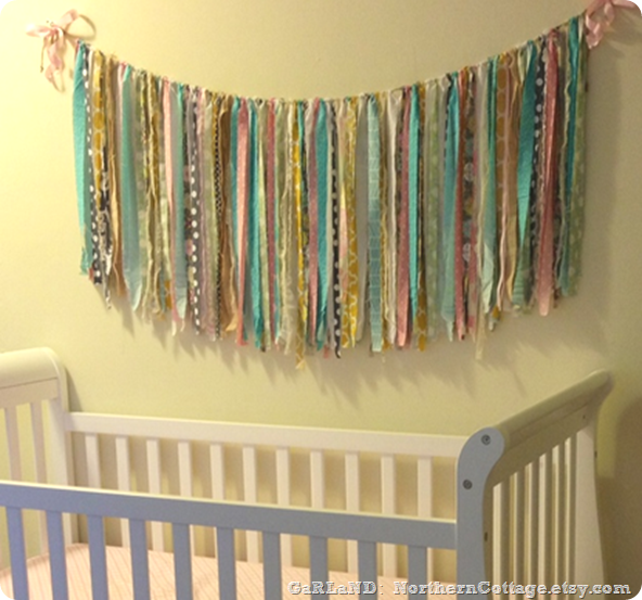 nursery garland {Northern Cottage}