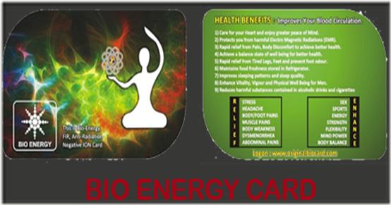 BIO-ENERGY-CARD