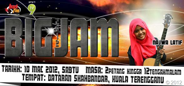 Hotfm Big Jam 2012 dan Majlis Perkahwinan Blogger