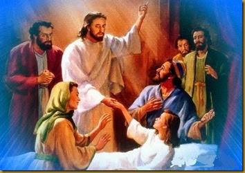 JESUS RESUCITA A LA HIJA DE JAIRO