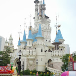 castle at Lotte World in Seoul, Seoul Special City, South Korea
