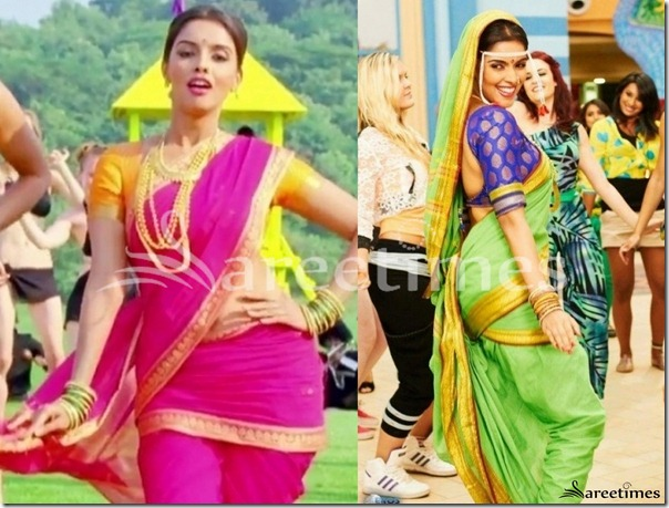 Asin_Pink_and_Green_Saree
