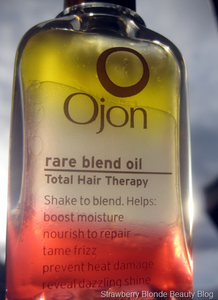 Ojon Rare Blend Oil review