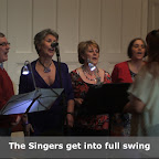 The singers get into full swing on the evening.JPG