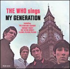 The Who Sings My Generation - 1965