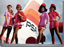 PSA stewardesses