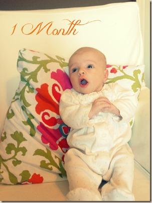 Charli 1 month