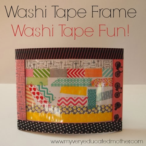 Washi Tape Frame