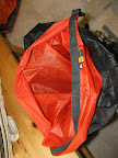 Silnylon liner for sleeping bag - I expect a bit of wading in slop