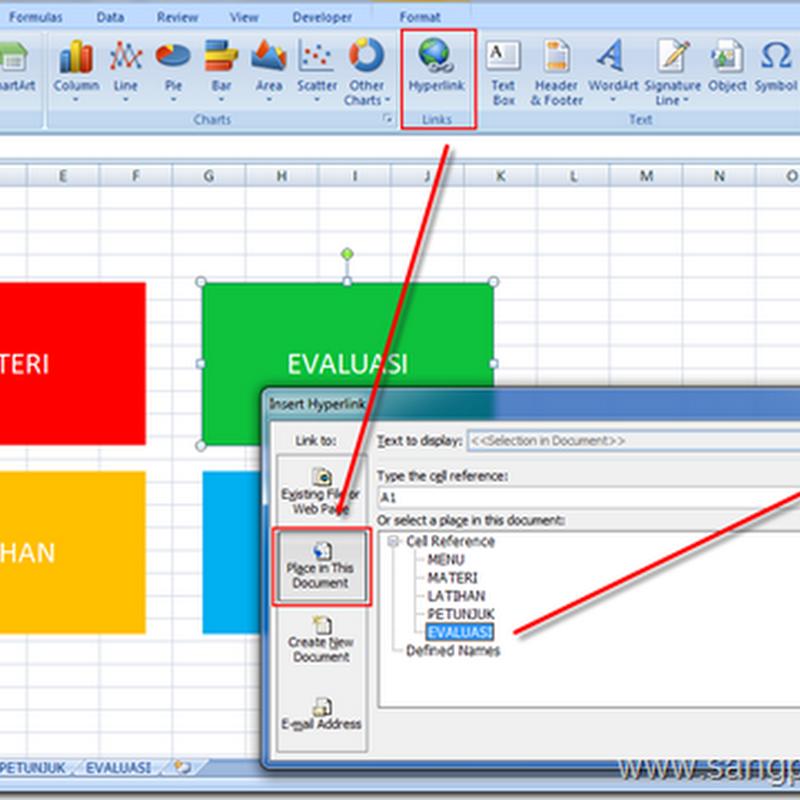 Cara Membuat Navigasi di Excel