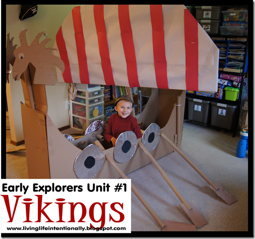 Hands on Early Explorers Vikings Unit from 123 Homeschool 4 Me