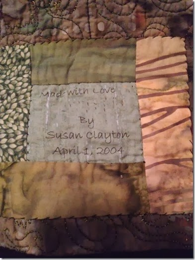 pot quilt label