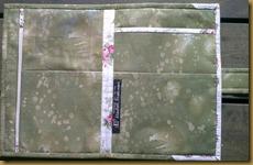 Innsiden av mappen