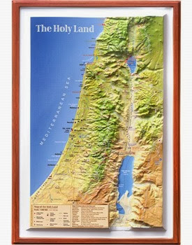 Multi-Era Holy Land Map