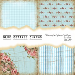 Blue Cottage Charms Front Sheet