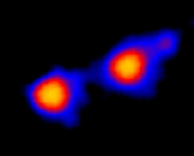 imagem em ultravioleta do sistema Mira
