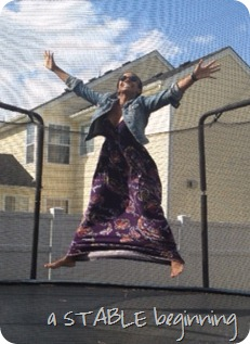 allie on trampoline 6-2-12