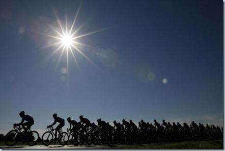 bicicletas pedaleando