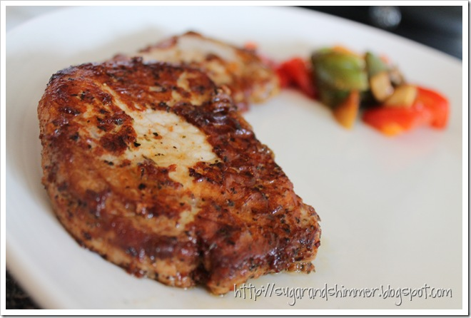 parmesan crusted pork chops 2