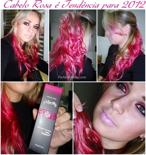 cabelo rosa, cabelo pink