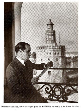 Juan Belmonte en su casa de Sevilla 001