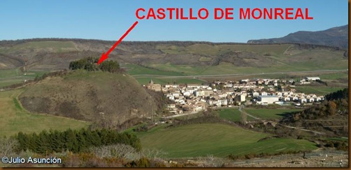 Castillo de Monreal - Ubicación