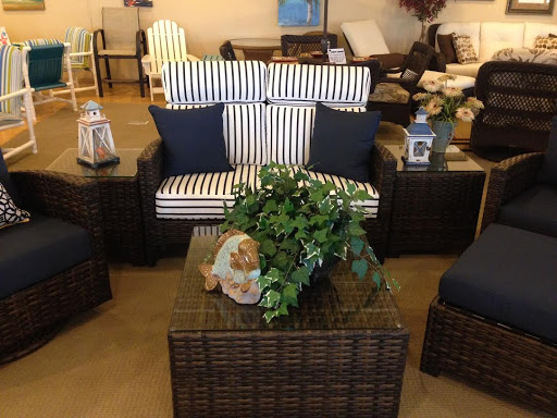Palm Casual Patio Furniture has a new arrival for Spring 2015,  our exclusive Grand Palms collection! Powder coated rust proof virgin aluminum frames, with the industries best Polyethylene wicker construction. The color is throughout the wicker material, so it will never show scratches or fade. Each set is matched with a custom set of Sunbrella fabric cushions. Palm Casual patio furniture is taking Myrtle Beach by storm with our unbelievable prices 30-50% below retail! We are the manufacturer, with wholesale prices. Give us a call today 843-839-9595 or visit us on the web at http:/www.PatioFurnitureMyrtleBeach.com.