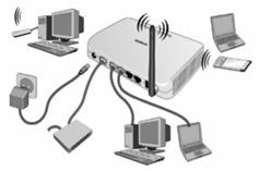 O que é uma rede Wi-Fi - Para que serve - Como é usada - configurada e como funciona  Veja as respostas aqui - configurando com segurança senha proteção