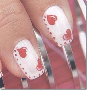 uñas decoradas con esmalte sencillas
