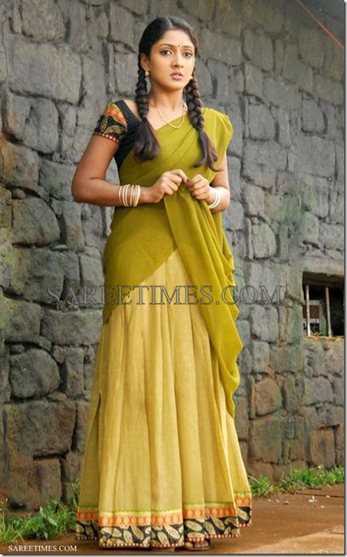 Sheela_Green_Half_Saree