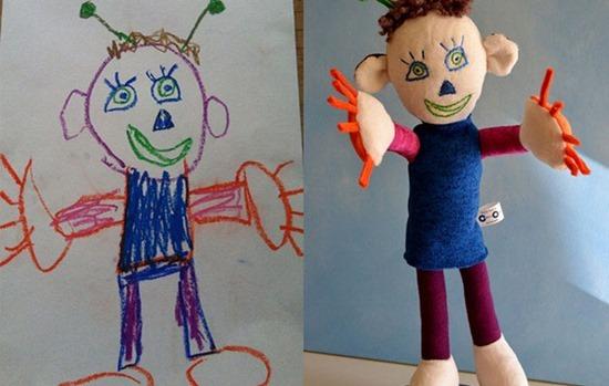 Brinquedos de desenhos de crianças (11)