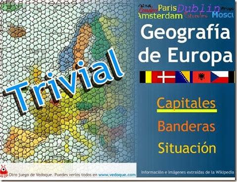 Trivial de Geografía de Europa