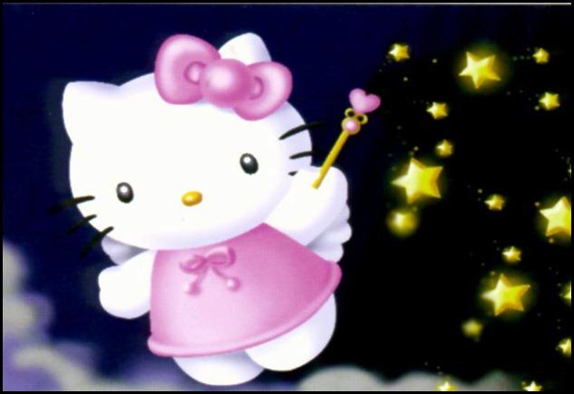 Hello Kitty estrellas
