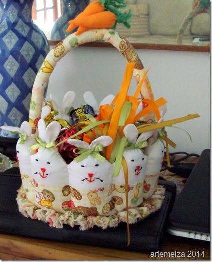 artemelza - cesta de páscoa