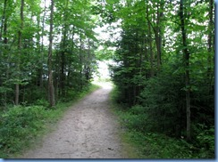 7158 Restoule Provincial Park - Kettle Point Campground - walk to Restoule Lake beach