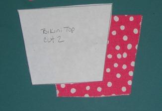 doll bikini top step 1
