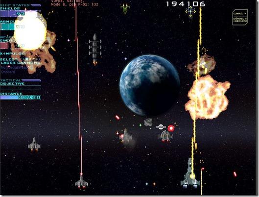 Star Fleet X bomber freeware game (4)