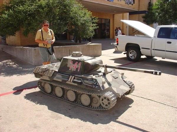 Dave Shultz Panther tank 1 3