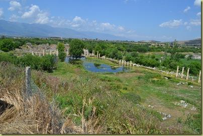 Aphrodisias South Agora with pond