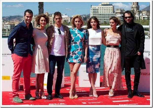 Mejor vestidas Festival Málaga Grupo
