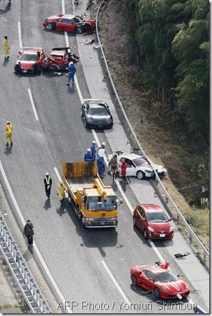Ferrari kemalangan 3