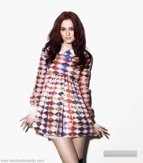 Leighton meester blair gossip girl garota do blog linda sensual desbaratinando  (212)