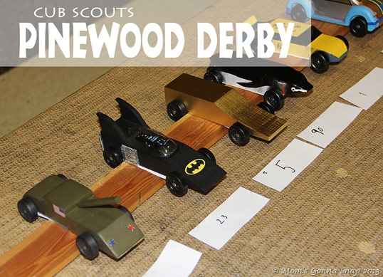 Pinewood Derby by MomsGonnaSnap