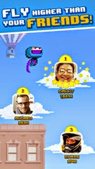 لعبة النينجا النطاط للأيفون والأيباد Ninja UP! - 4