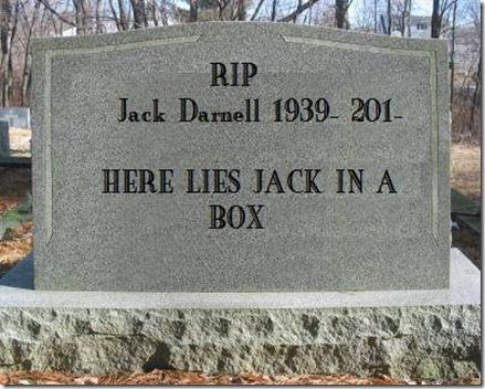 jack's tombstone