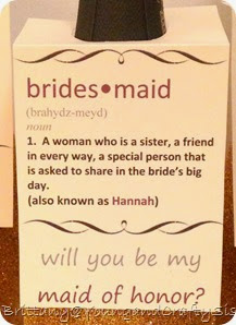 Bridesmaid 5