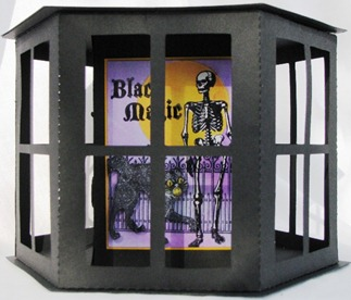2011 10 LRoberts ATC Lantern 5 Black Magic Skeleton